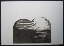 Radering, unummerert, signert, 1973, Kunst