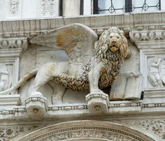 Winged lion of St. Mark - Venice