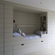 Built-In Bed for a Child's Bedroom
