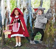 little red riding hood and wolf costume - Google Search