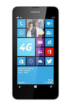 Nokia Lumia 635 4.5-inch SIM-Free Smartphone - White (Windows) - http://www.computerlaptoprepairsyork.co.uk/mobile-phones/nokia-lumia-635-4-5-inch-sim-free-smartphone-white-windows