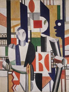 By Fernand Léger (1881-1955), 1919, 	 Men in the City, oil on canvas, The Solomon R. Guggenheim Foundation, Peggy Guggenheim Collection, Venice.