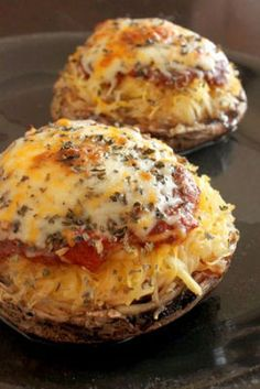 Spaghetti Squash and Portobello Mushroom Pizza: http://myhoneysplace.com/more-the-best-only-recipes/