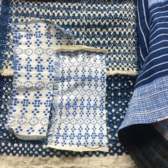 Ace & Jig's Dutch Blue and other textiles!