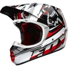 2009 fox helmet red - Google Search