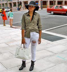 StilettoEsq: Shredded jeans