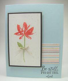 Maddiebug Designs - Be Still - Stampin' Up!, SAB 17, Sending Thoughts, Avant Garden
