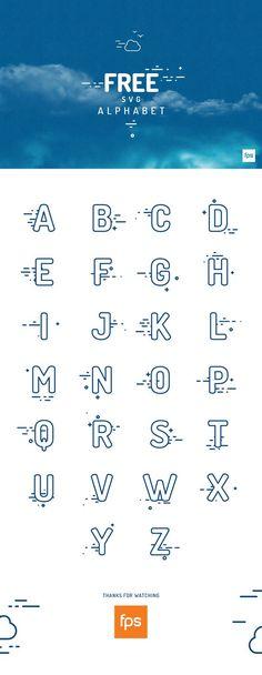 Free SVG Alphabet par fps agency - 09