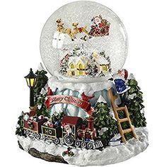 27 cm WeRChristmas Musical Animated Santa Christmas Decoration Multi-Colour