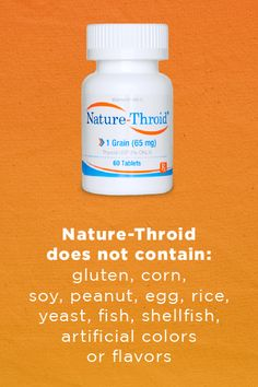 Nature-Throid is a natural hypothyroidism treatment that has been trusted for more than 75 years. Discover the Nature-Throid difference.