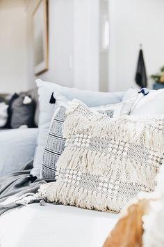 Farmhouse With Soul — Adore Home Magazine Decor, Home Decor Inspiration, Home, Living Spaces, House Interior, Apartment Decor, Pillows, Home Interior Design, House And Home Magazine