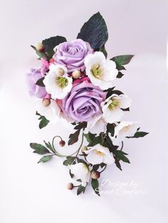 A sugar bouquet of hope. by Sweet Couture