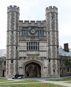 Take A Photo Tour Of Princeton University: Blair Arch At Princeton  University