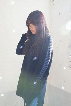 Cable Knit Boxy Long Knit Top
