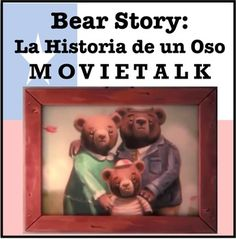 "La Historia de un Oso: This lesson plan features a Spanish reading based off the 2016 Oscar-Award Winning Best Animated Short, ""Bear Story,"" which shows a family's struggle during the Military Regime of Chile in the Spanish Teacher, Spanish Classroom, Teaching Spanish, Active Listening, Listening Activities, Movie Talk, Ap Spanish, Reading Resources, Reading Levels"