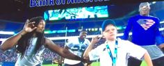 Cover Image - 6-Year-Old Braylon Beam Steals Show at Carolina Panthers FanFest NFL Nation with Nae Nae and Stanky Leg - video #justkeepdancing campaign #superman