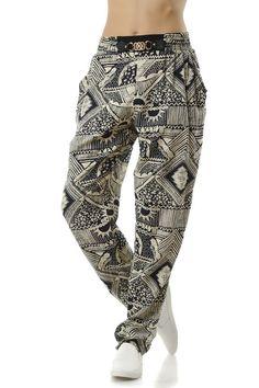 Γυναικείο μοντέρνο παντελόνι Harem Pants, Sweatpants, Fashion, Moda, Harem Trousers, Fashion Styles, Harlem Pants, Fashion Illustrations