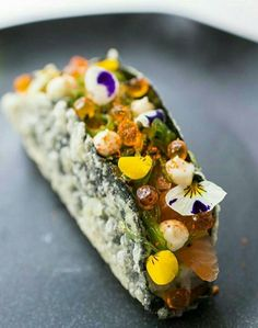 Gorgeous - caviar edible flowers #truefoodies #fortruefoodiesonly