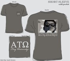 ATO Date Party Shirt @geneologie #morganrow #fraternity #ato #dateparty