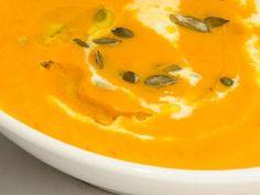 Sopa de Calabaza, Zanahoria y Jengibre - Recetas De Cocina Para Veganos