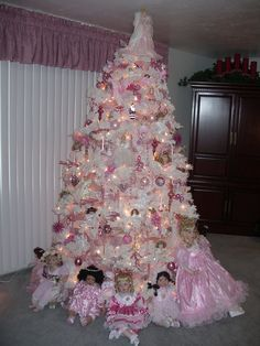 My Pink Christmas Tree 2007