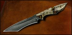 Jerry Hossom Knives | Vengeance w California Buckeye Handle