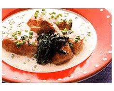 生鮭の洋風クリーム煮