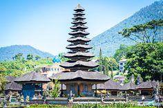 Pura Ulun Danu Beratan - Bali, Indonesië
