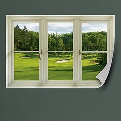 Good Spring Golf Tee Box: Instant Window. Man Office DecorOffice ...