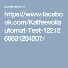 https://www.facebook.com/Kaffeevollautomat-Test-1221260831254207/