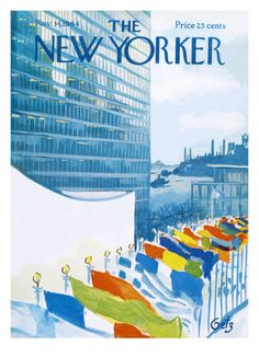 The New Yorker Cover - November 14, 1964 Giclee Print by Arthur Getz at Art.com