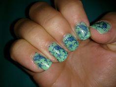 aqua marine dolphin nail stamping bundle monster stamp set bm-320