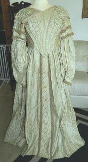 Stunning 1840's Wedding Dress