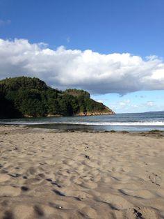 Praia de Fornos en Lugo, Galicia