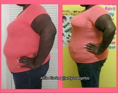 Wow! Yes we can reshape you!  It starts with a 10-minute reshaping.  Then you start detoxing and drinking Le'Vive and you will have total transformation!