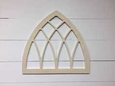 """Unfinished Vintage Inspired 22""""x24"""" pointed Arch Window Frame by Featherandbirch on Etsy https://www.etsy.com/listing/513805535/unfinished-vintage-inspired-22x24"""