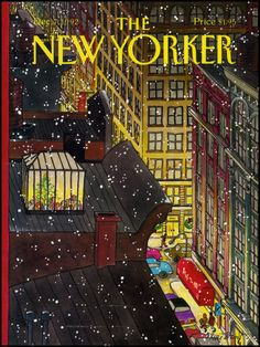 The New Yorker Cover - December 7, 1992 Giclee Print by Roxie Munro at Art.com - New Yorker Cover Quiz