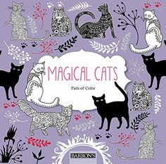 Magical Cats (Pads of Color) by arsEdition http://www.amazon.com/dp/1438009305/ref=cm_sw_r_pi_dp_YL6oxb1JAVY7W