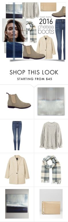 """Chelsea Boots: Best Trend 2016"" by lamemechose ❤ liked on Polyvore featuring Benson-Cobb Studios, 7 For All Mankind, MANGO, Minimum and Matt & Nat"