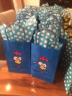 Gift bag gallina Pintadita