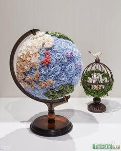 Unique Flower Arrangements, Unique Flowers, Beautiful Flowers, Deco Floral, Arte Floral, Floral Design, Balloon Flowers, Giant Paper Flowers, Flower Studio