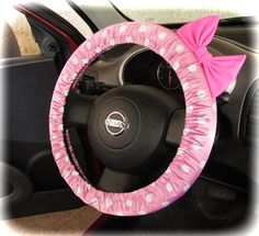 Probably gonna get something like this but with cheetah or snow leopard and Tiffany blue bow for the new car