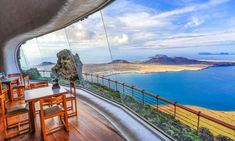 Sea view from cafe-bar Mirador del Río, Lanzarote Winter Sun, Canary Islands, Adventure Awaits, Local Artists, Photography Poses, Travel Destinations, Cafe Bar, Places, Sea
