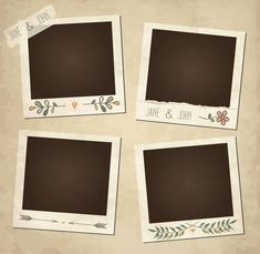 template of vintage worn distressed design with photo frames and other ele ,Scrap template of vintage worn distressed design with photo frames and other ele , Blank photo frame album with flower Photo Floral Wallpaper Phone, Flower Background Wallpaper, Polaroid Picture Frame, Polaroid Template, Birthday Post Instagram, Photo Frame Design, Instagram Frame Template, Photo Collage Template, Mini Drawings