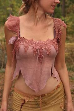 I found 'Gypsy tattered Heather fairy silk top by FractalWings on Etsy' on Wish, check it out!