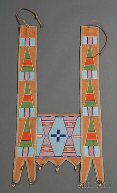 Plains Beaded Cloth Horse Collar | Sale Number 2506, Lot Number 375 | Skinner Auctioneers