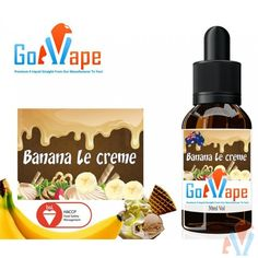 Banana le Creme E liquid Concentrate