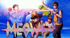 "Anamanaguchi's video for ""Meow."" Just watch it. http://allthingsgomusic.com/anamanaguchi-meow"