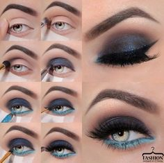 Уроки макияжа для светлых глаз