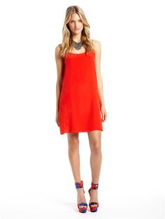 dkny-love this dress, gorgeous colour!